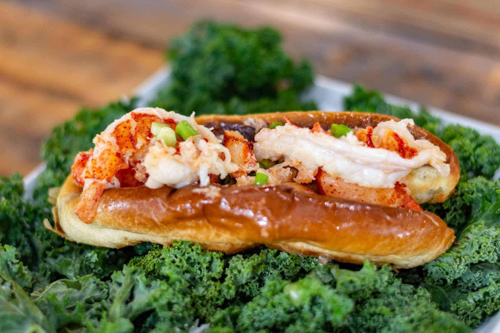 Lobster Roll Water Dog Smoke House